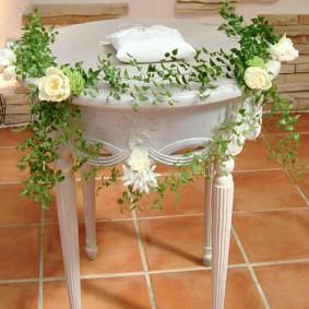 祭壇用テーブル装飾